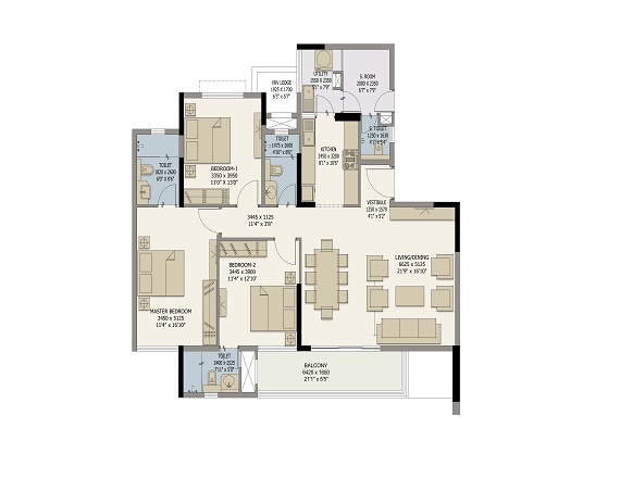 Divyasree 77 Place Flats In Old Airport Road Bangalore